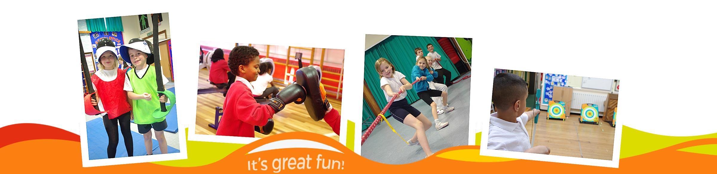School Sports Olympics Workshops