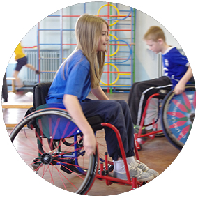 Aspire Sports Wheelchair Race